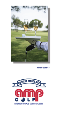 AMP GOLF - Golfreisen Katalog + Internationale Golfschulen - amp golf Katalog - Winter 2018 bestellen